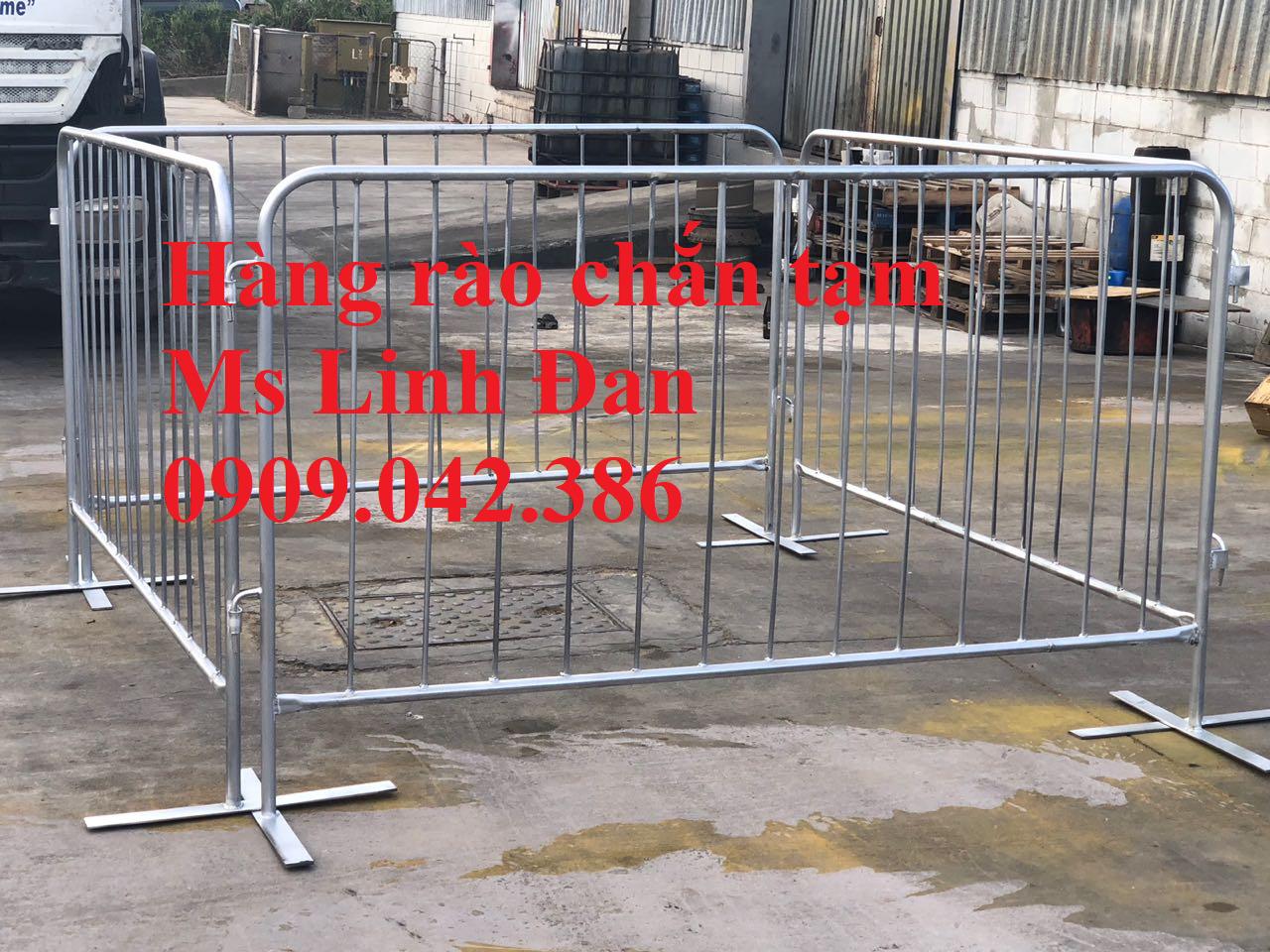 lưới thép hàng rào di động, lưới thép hàng rào chắn đám đông, - 2
